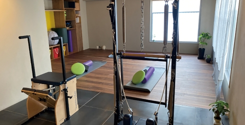 pilates studio BLUE PEARL.